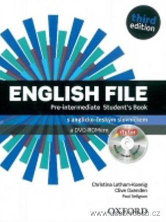 English File Pre-Intermediate Student´s Book s  DVD-ROM /Czech Edition