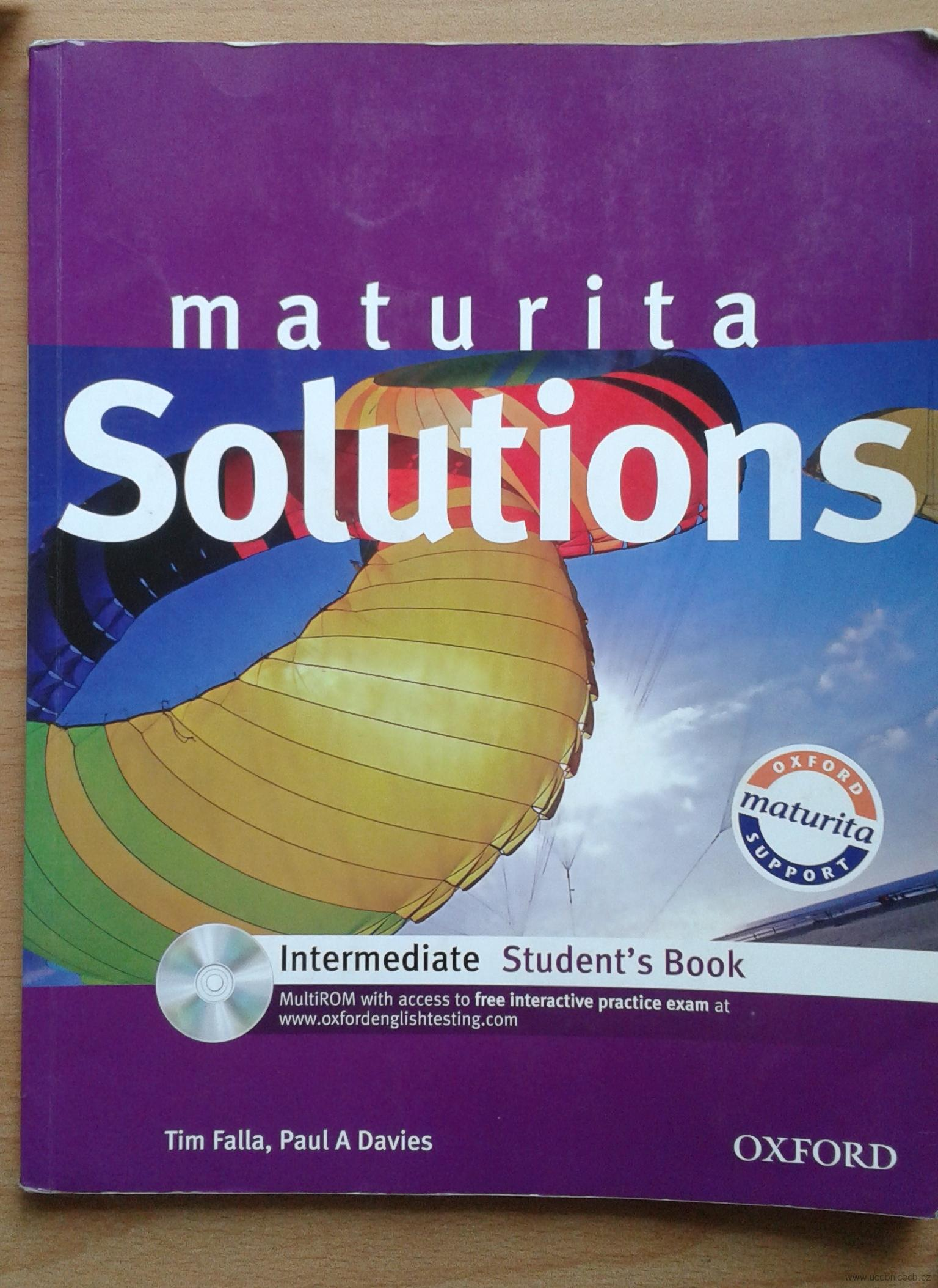 Maturita Solutions  Intermediate Student´s Book bez CD