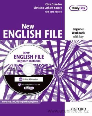 New English File Beginner Workbook with key /+MultiRom/ SLEVA