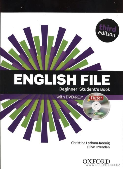 English File Beginner Student´s Book s  DVD-ROM