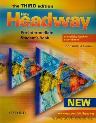 New Headway pre-intermediate Studenťs Book third edition