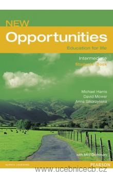 New Opportunities Intermediate Students´ Book + slovníček