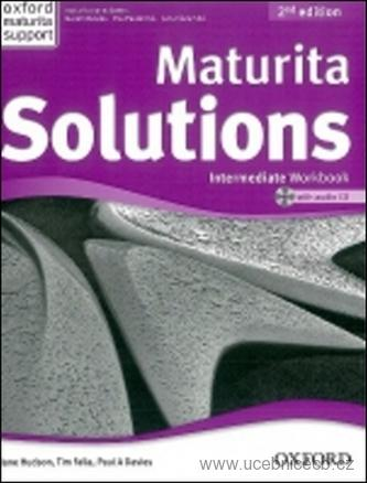Maturita Solutions Intermediate 2 Ed. Workbook with Audio CD PACK