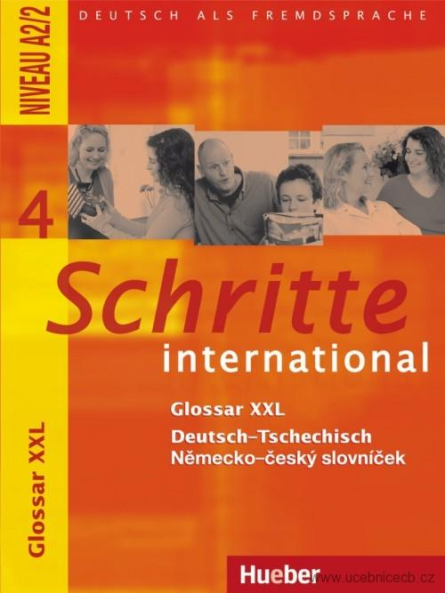 Schritte international 4 Glosar XXL Deutsch - Tschechisch (slovníček)