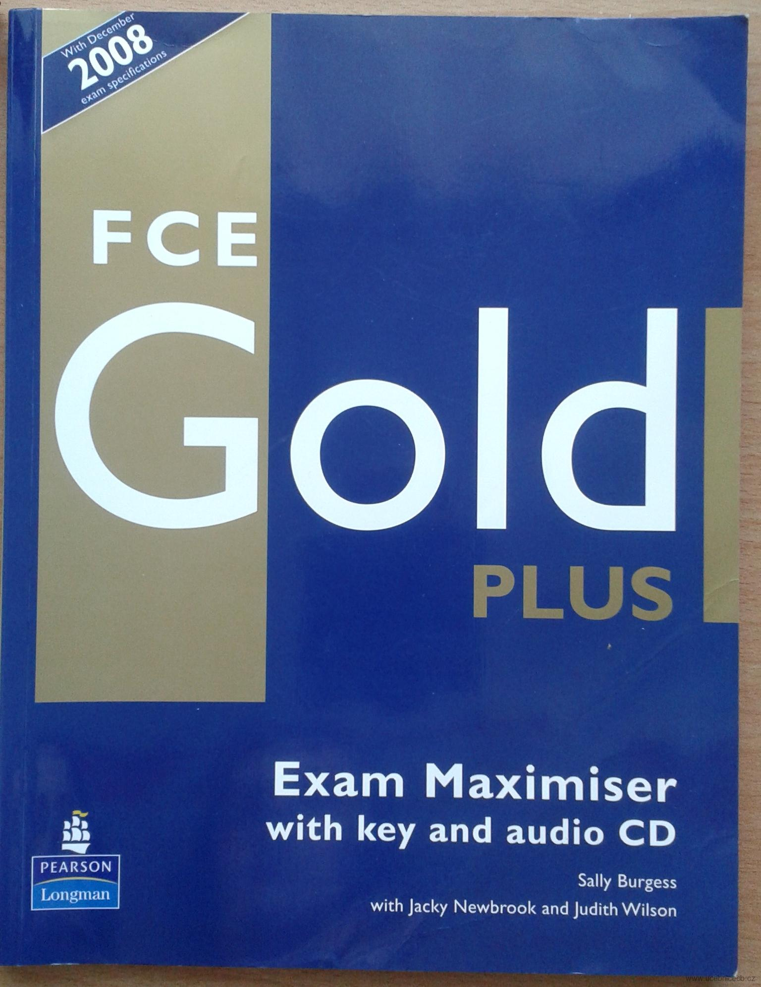 Gold FCE Plus - Maximizer with Key bez CD