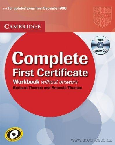 Complete First Certificate Workbook with answers bez Audio CD