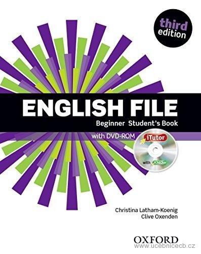 English File Beginner Student´s Book bez  DVD-ROM!