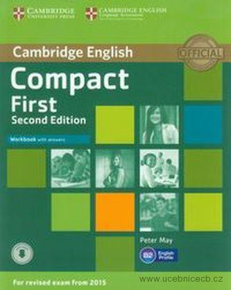 Compact First Workbook with answers bez CD