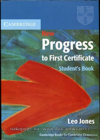 New Progress to First Certificate - Student´s Book