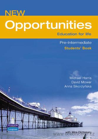 New Opportunities  Pre-Intermediate Students´ Book + slovníček