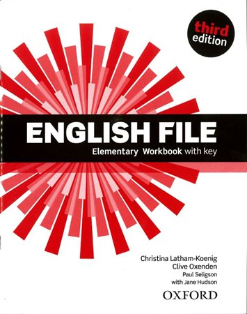 English File Third Edition Elementary Workbook with Answer Key  /NOVÁ/