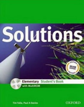 Maturita Solutions ELEMENTARY  Student´s Book  s  CD