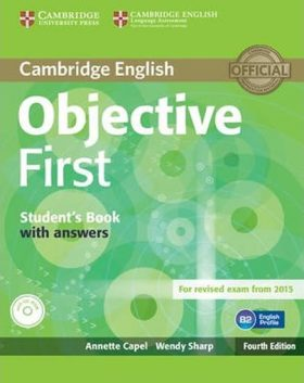 Objective First 4th Edn: SB with Answers  CD-ROM