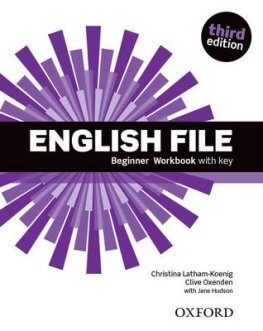 English File Third Edition Beginner Workbook with Answer Key
