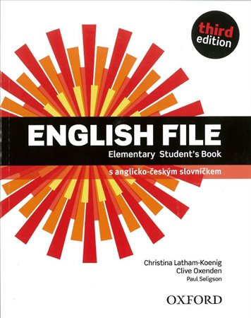 English File Elementary 3rd Edition Student´s Book  Czech Edition /NOVÁ/