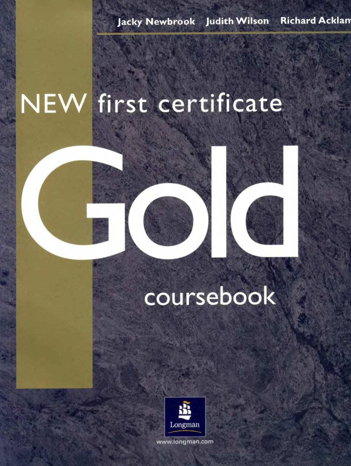 New first certificate Gold Plus Coursebook